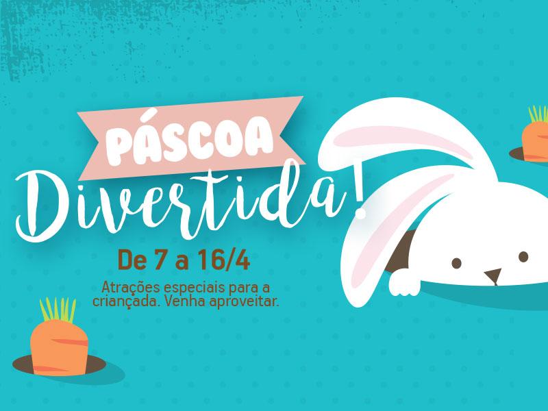 Banner Páscoa - Shopping Centerminas