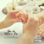 Cartaz Spa de Mãos e Pés - Centerminas - Dia das Mães