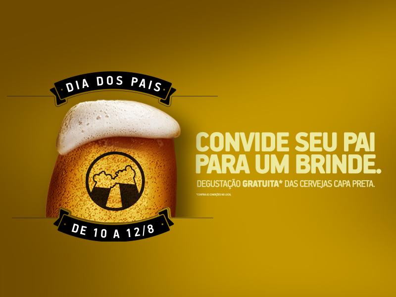 Dia dos Pais do Centerminas tem degustação gratuita da Cervejaria Capa Preta.