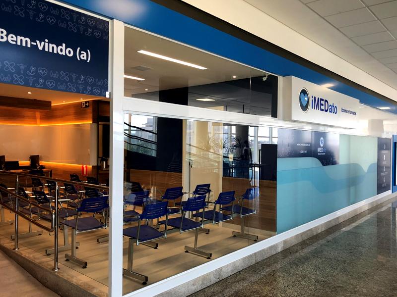 Clínica iMEDato inaugura no Centerminas.