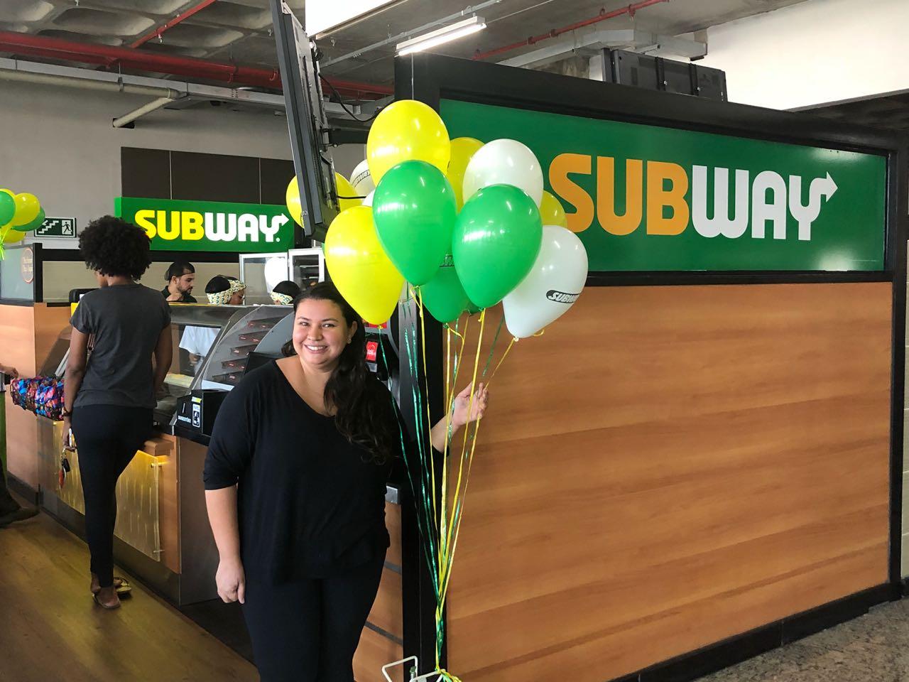 Público do Centerminas agora aproveita as delícias da Subway