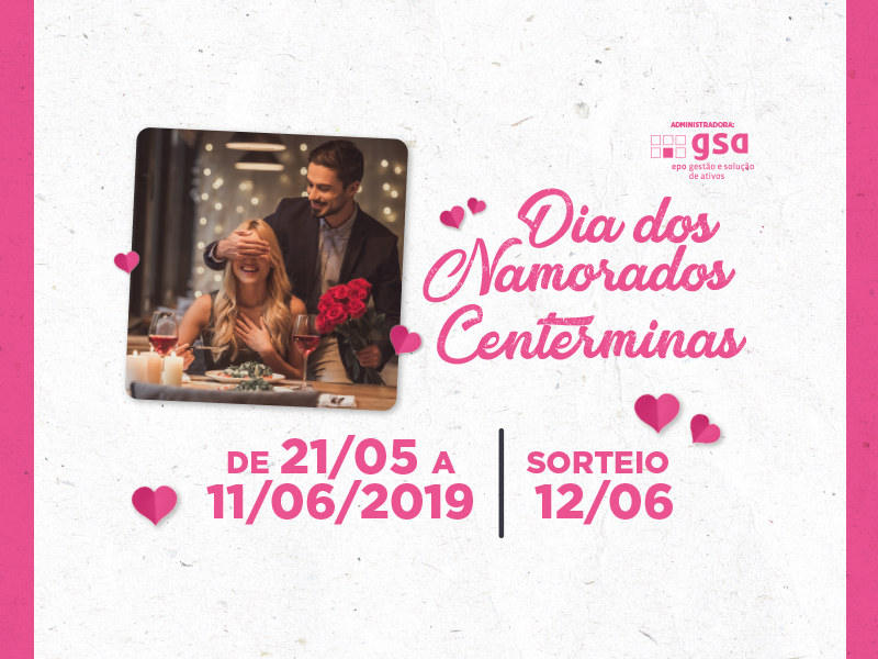 Centerminas presenteia casal com jantar em comemoração ao Dia dos Namorados
