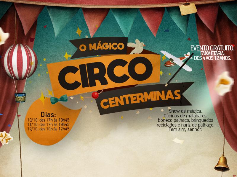 Power Shopping Centerminas traz a alegria do circo para a criançada