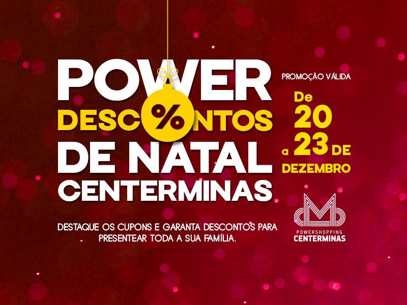 Centerminas promove campanha de Natal com descontos especiais