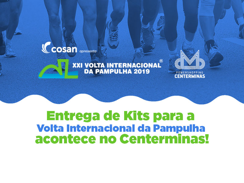 Kits para a Volta Internacional da Pampulha serão entregues no Power Shopping Centerminas
